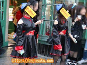 ユニバのハロウィンの仮装