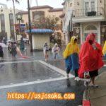 USJが雨ならカッパと傘どっちがいい?アトラクションでは?