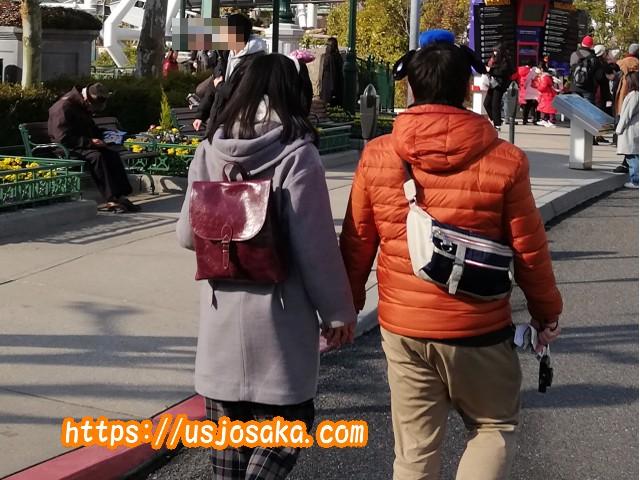 2月はUSJのある大阪で一番寒い時期