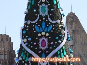 USJのクリスマスツリーの見どころ