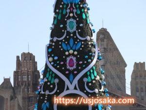 USJのクリスマスツリー点灯式はクリスタルの約束?点灯時間は?