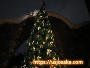 USJハリーポッターのクリスマスツリーに魔法が!